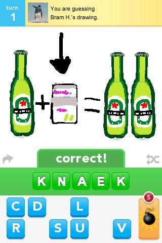 Knaek In Draw Something Nynkek