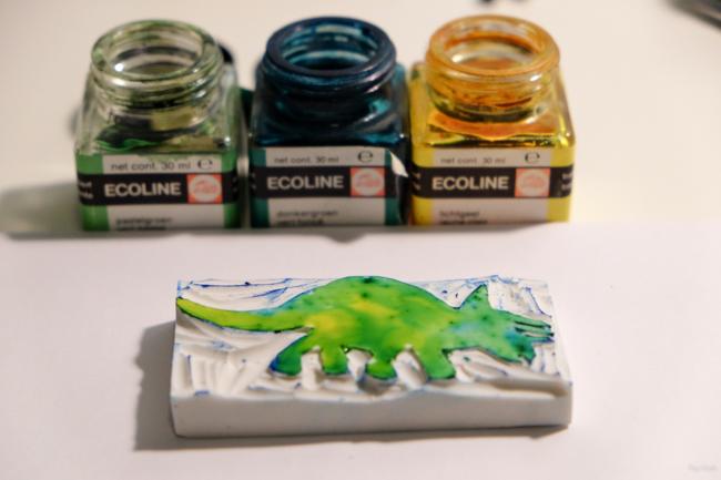 diy zelf stempel maken van een gum 009