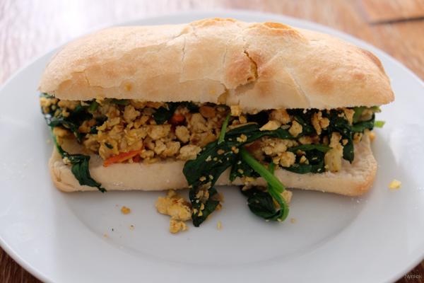 Vegan Challenge - Scrambled tofu