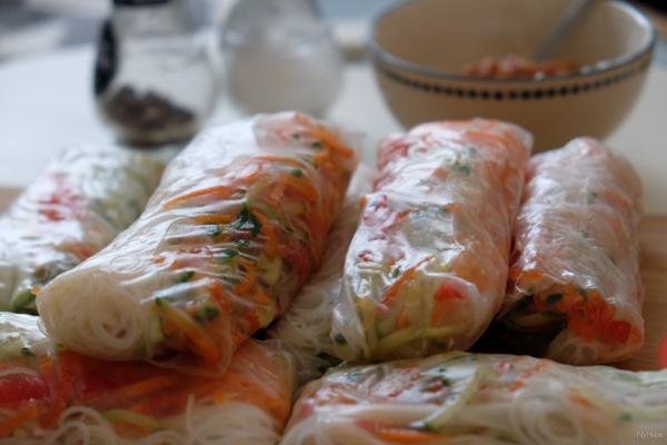 Vegan Challenge - Spring rolls