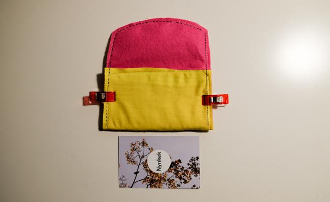 visitekaartjeshouder diy roze002