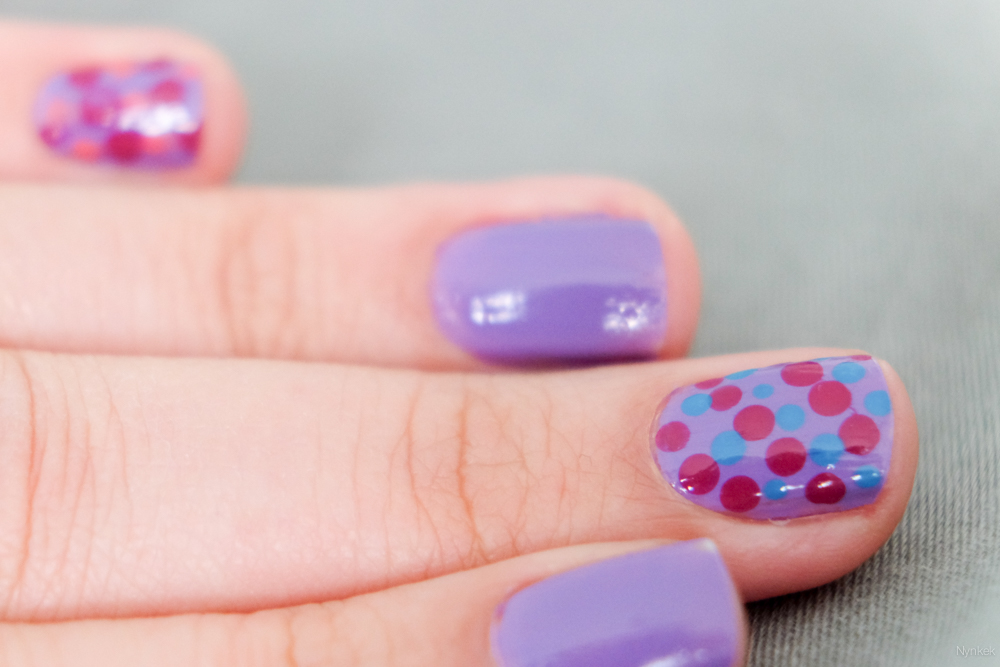 diy stippen nagels dot nailart - DSCF1701-160430