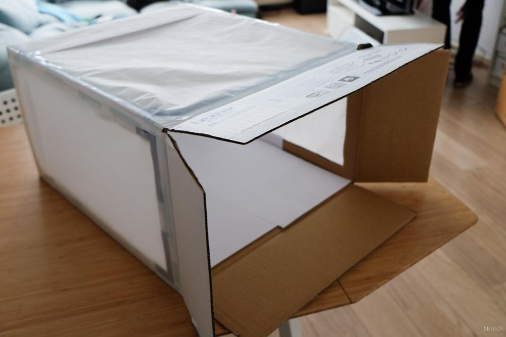 Tada, mijn eerste zelfgemaakte light box