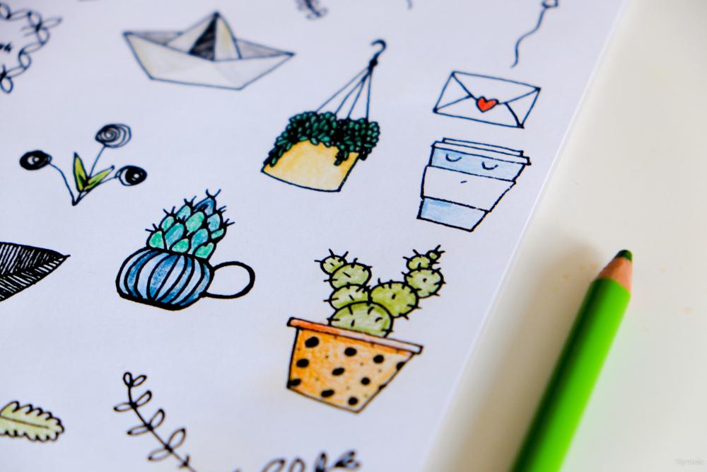 Diy zelf stickers maken en printen nynkek - Hoe om kleuren te maken ...