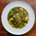 Vegan Indiase curry met linzen