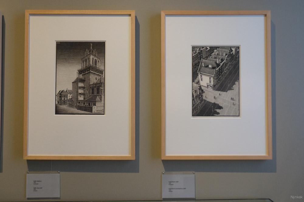 Escher tentoonstelling in het paleis