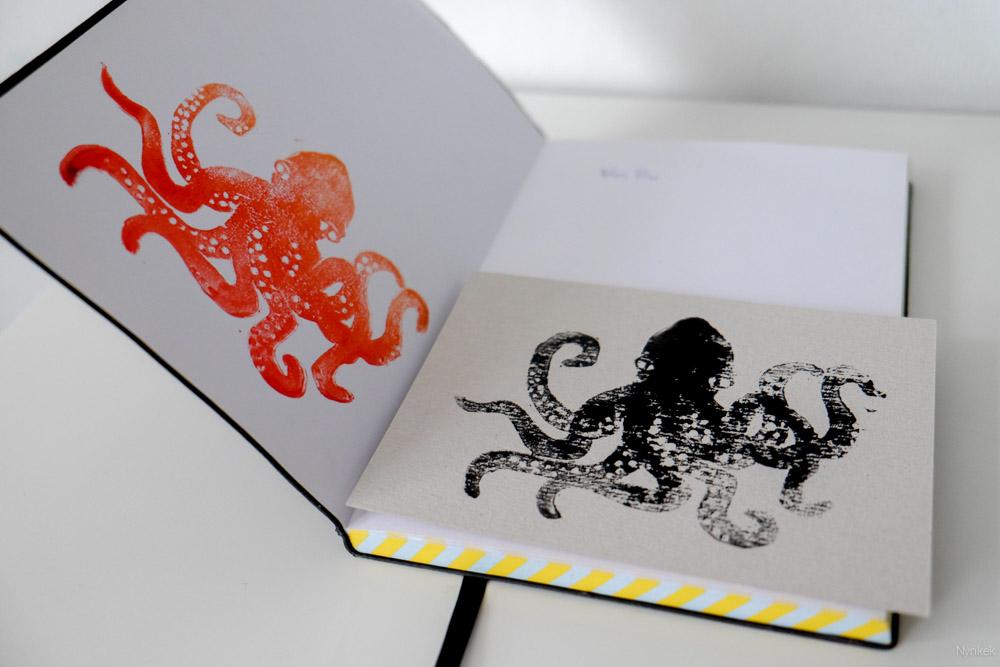 Overal een octopusstempel!