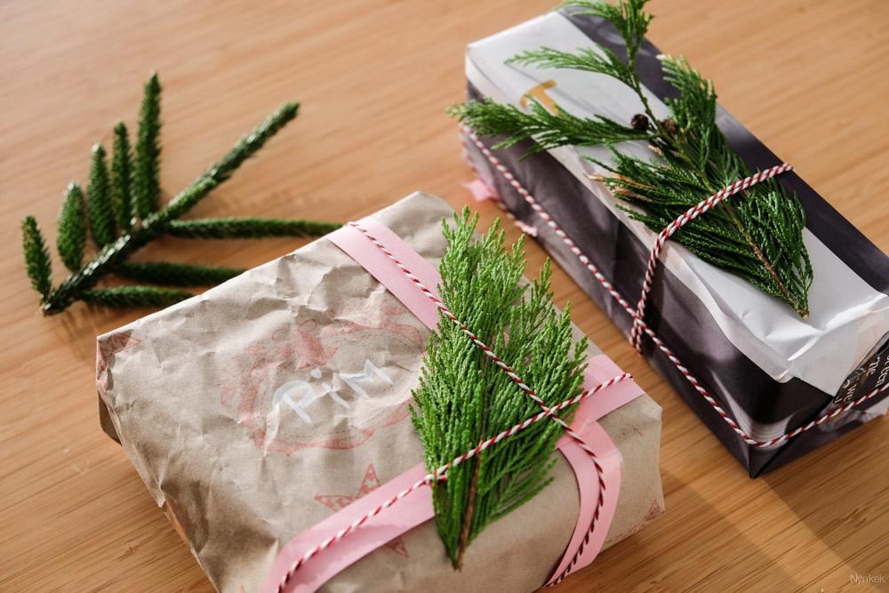 Versier je cadeautjes met planten