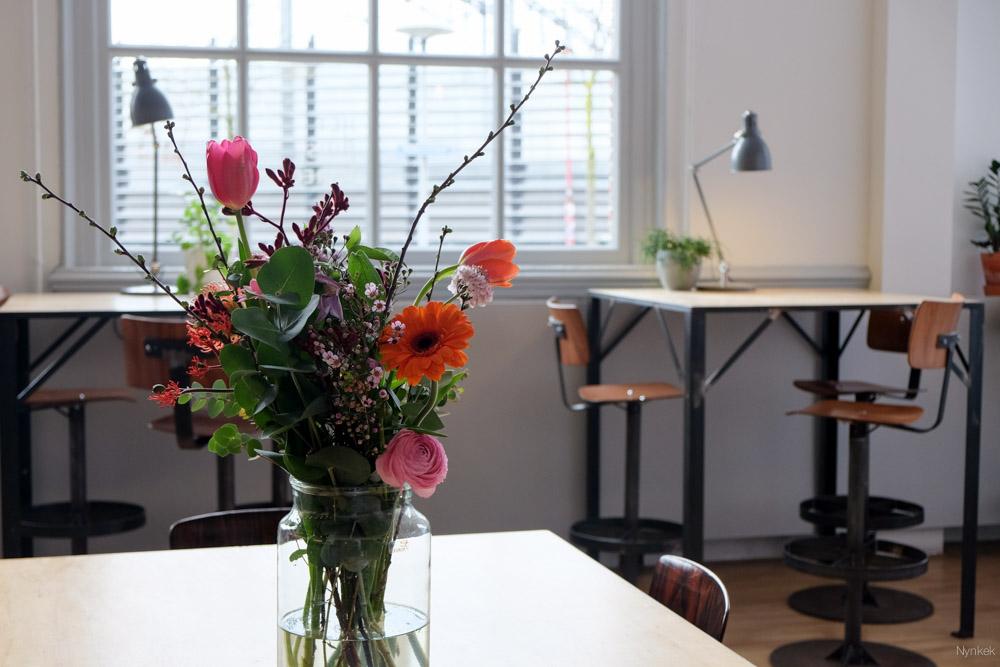 bloemen in Het Huis Utrecht