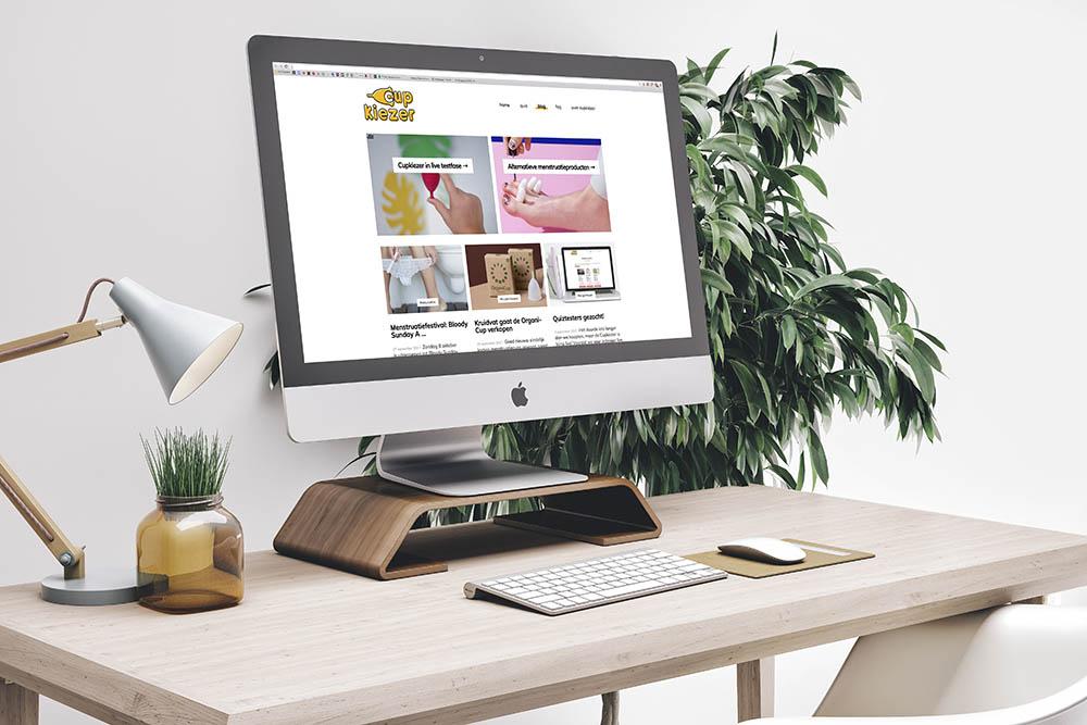 Cupkiezer.nl maakt het makkelijk om een duurzame menstruatiecup te kiezen