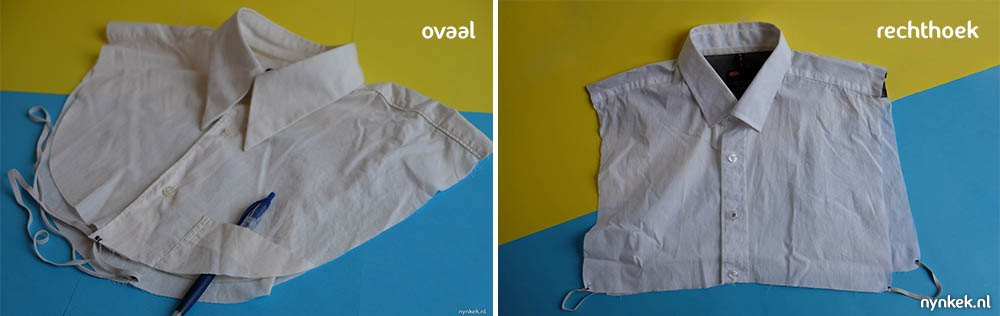 verschillende manieren van een verwisselbare kraag naaien