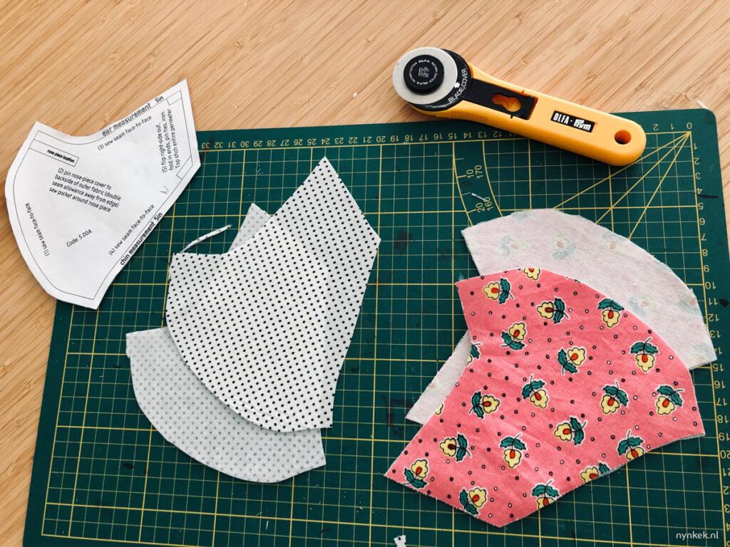 mondkapje op maat naaien DIY