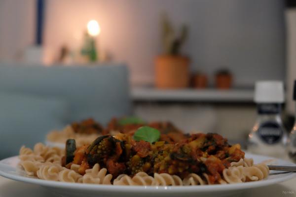 Vegan Challenge - Pasta with Romanesco broccoli