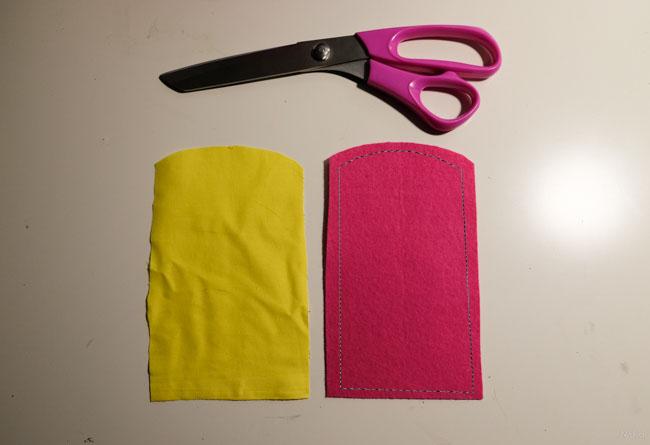 visitekaartjeshouder diy roze001