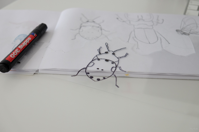 diy shrinky dinky insects-004
