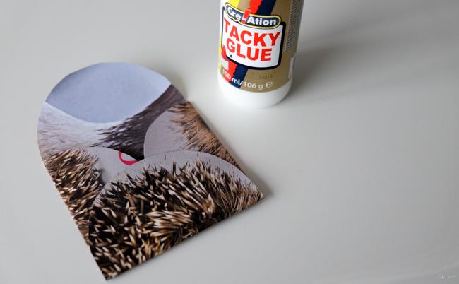 DIY envelop maken