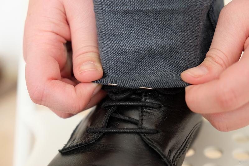 broek korter maken met orginele zoom - DSCF0928-160228
