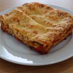 Lasagne met kaas en citroen
