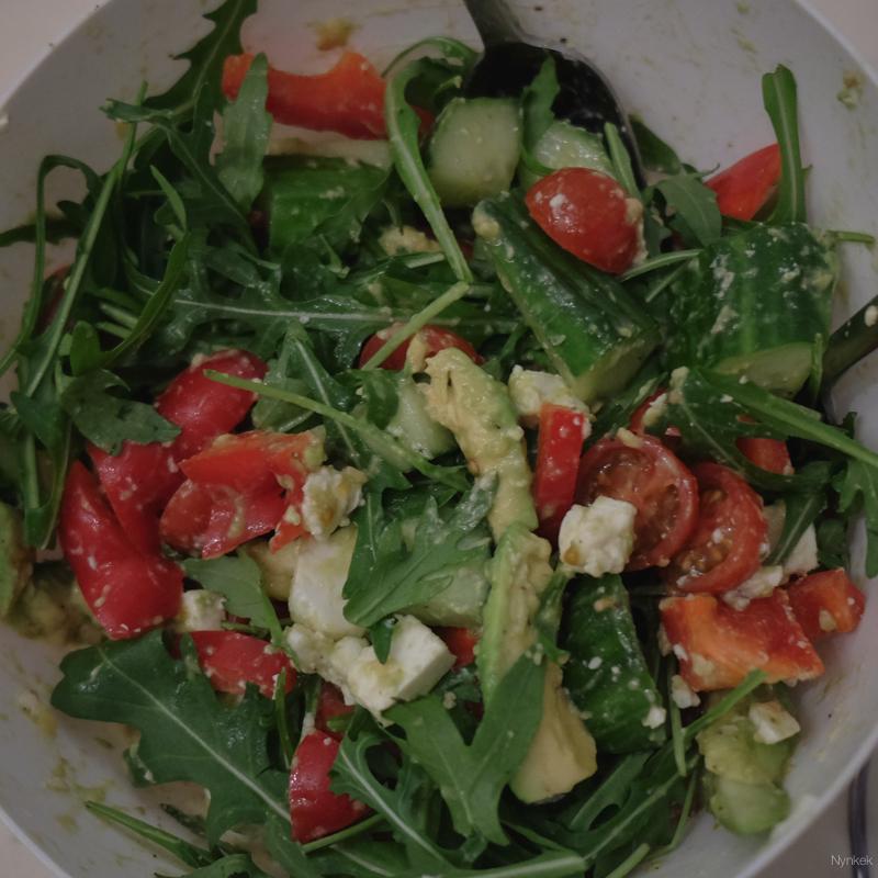 vegetarische advocado salade recept- DSCF0822-160226