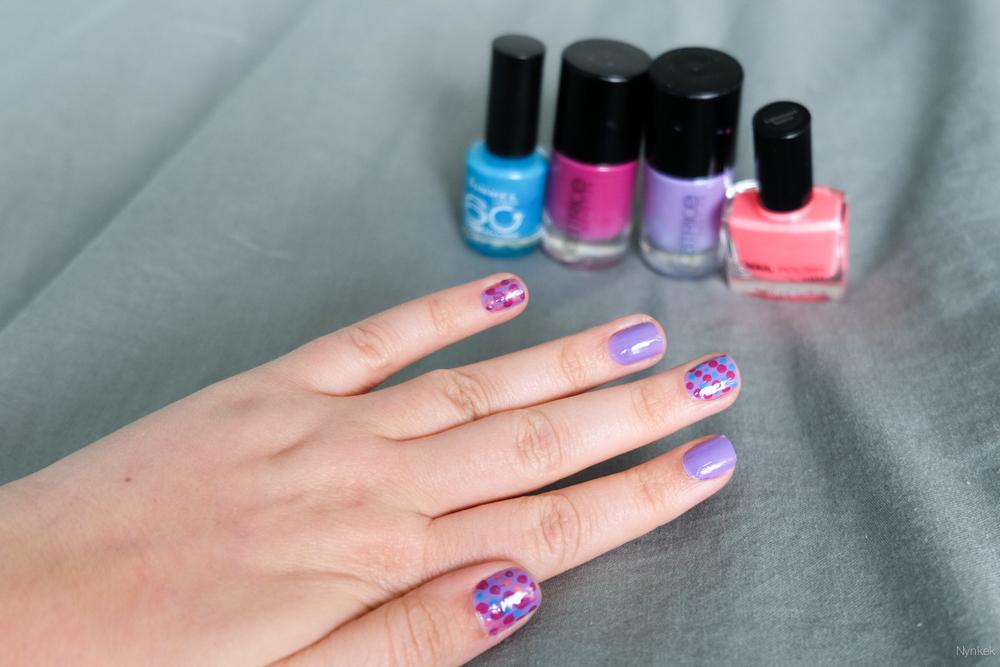 diy stippen nagels dot nailart - DSCF1698-160430