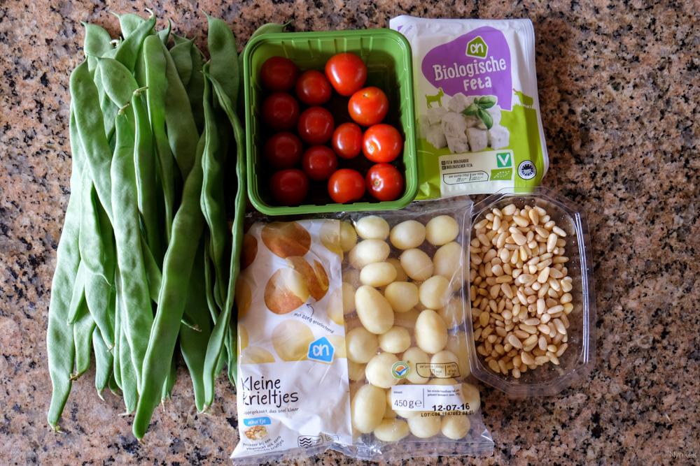 nynkek - recept vegetarisch snijbonen met tomaat en krieltjes - DSCF2982-160707