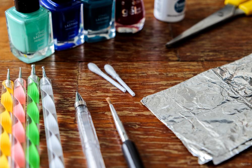 nynkek - makkelijke nail art stippen - DSCF3590-160810