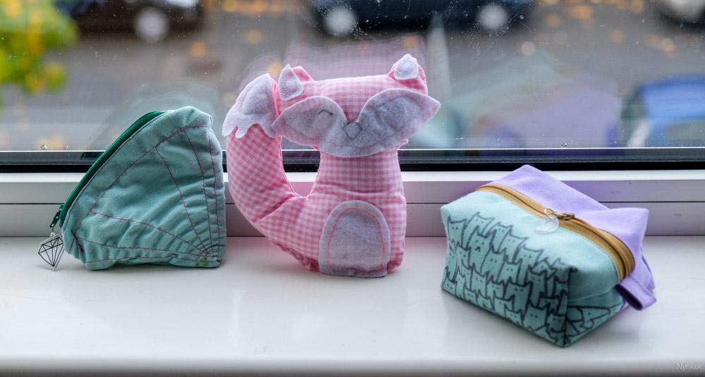 mijn eerste naaiprojecten