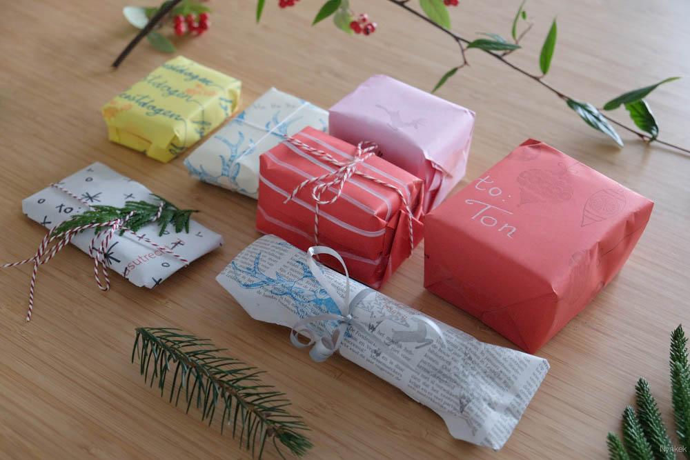 creatief cadeautjes inpakken