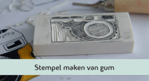 stempel maken van gum