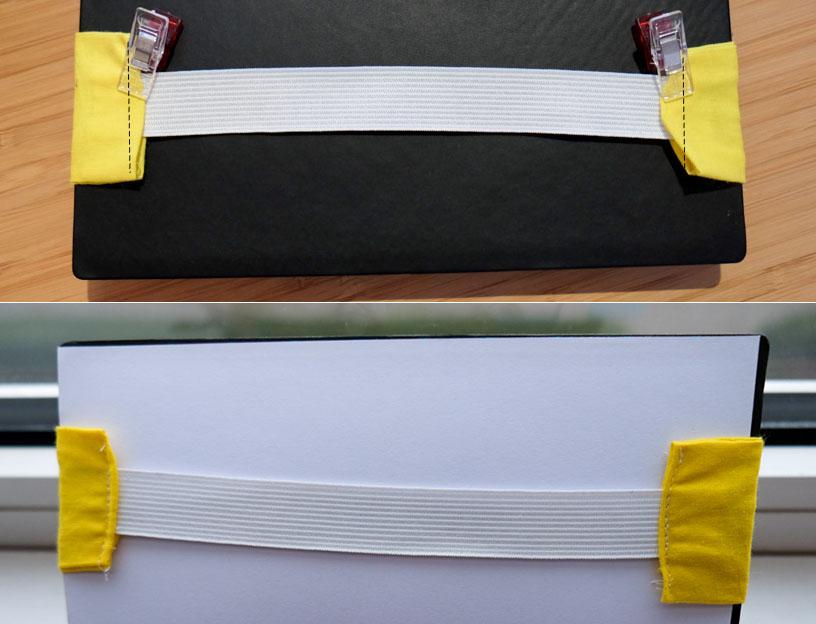 elastiek aan de binnenkant naaien