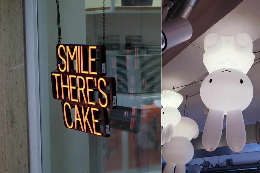 Smile there's cake en Nijntje lampen