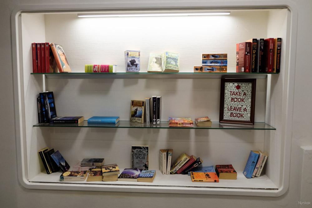 Gratis boeken achterlaten en meenemen