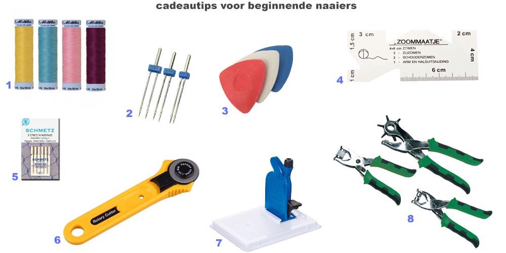 cadeautips voor naaisters