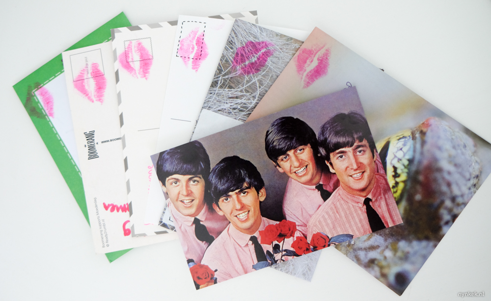 De Valentijnskaarten die ik vorig jaar gratis stuurde