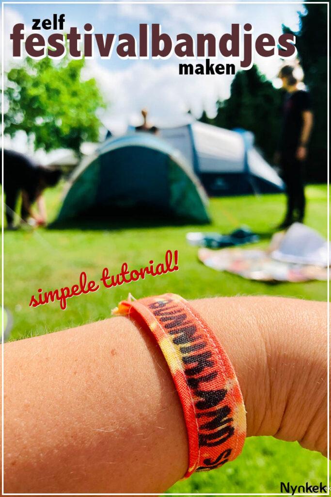 Superleuk idee: Eigen festivalbandjes maken. Simpele tutorial met foto's!