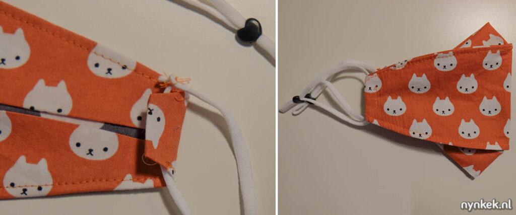 Stap 6: elastiek erin naaien